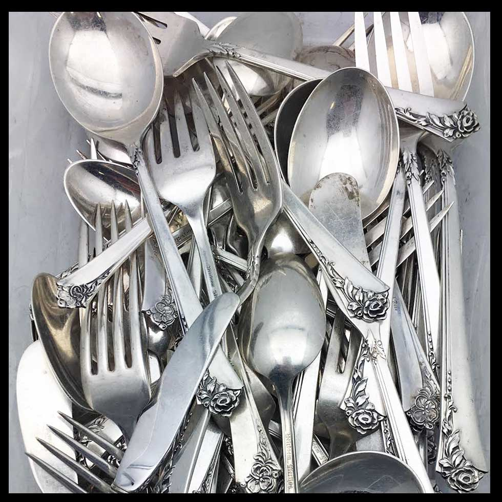 Sell Sterling Silver Flatware in Florida